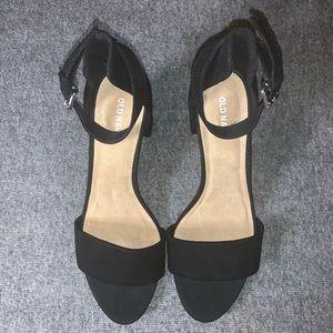 Old Navy Faux Suede High Heel Sandal